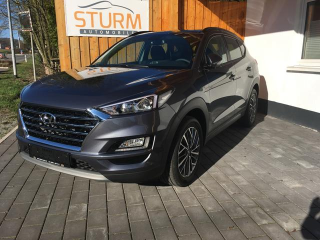 Hyundai Tucson - Facelift 1.6T EURO6d-Temp AT Navigation Panoramadach Klimaautomatik Kamera Privacy
