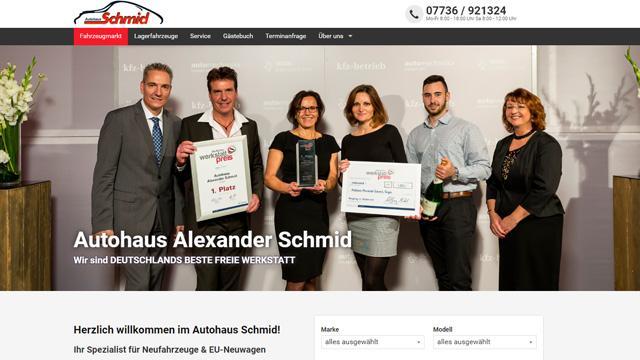 Autohaus Alexander Schmid - DEUTSCHLANDS BESTE FREIE WERKSTATT