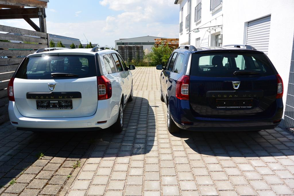 Dacia Logan MCV Kombi Reimport EU-Neuwagen