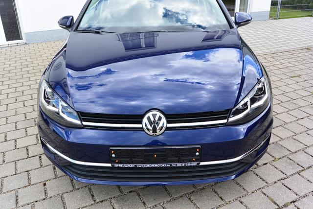 Reimport EU Neuwagen VW Golf Blau Atlantic Blue Metallic