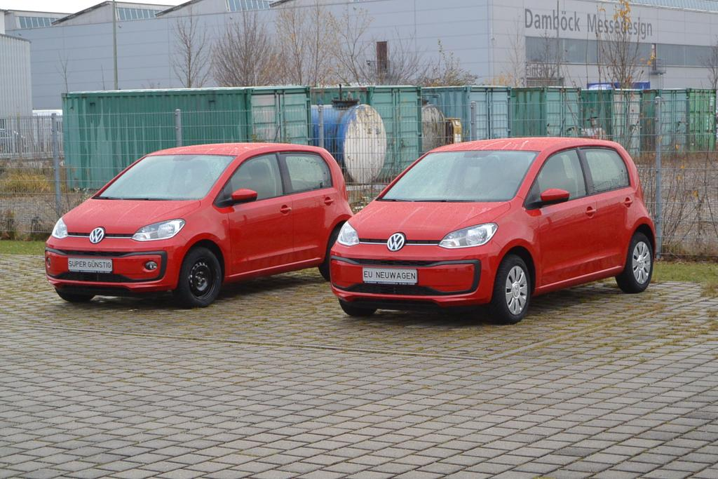 VW up! 5-Türer Reimport EU-Neuwagen