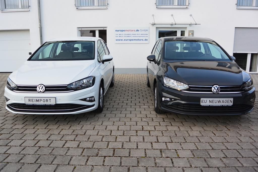VW Golf Sportsvan Reimport EU Neuwagen