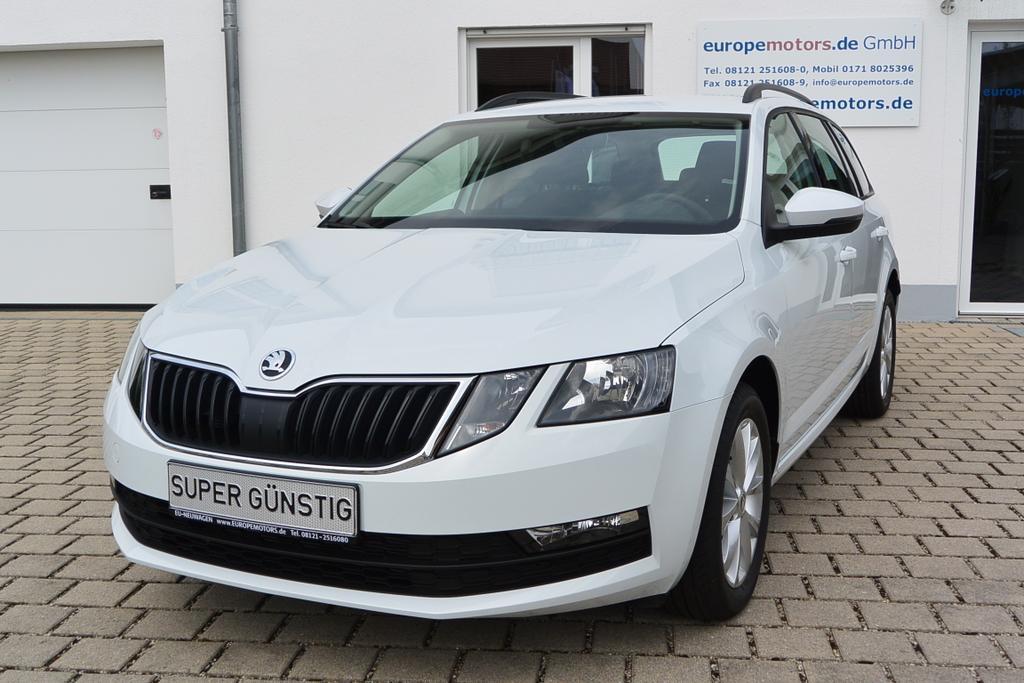 Reimport EU Neuwagen Skoda Octavia Combi 9P9P Weiß - Candy-Weiß, innen Interieur Schwarz europemotors
