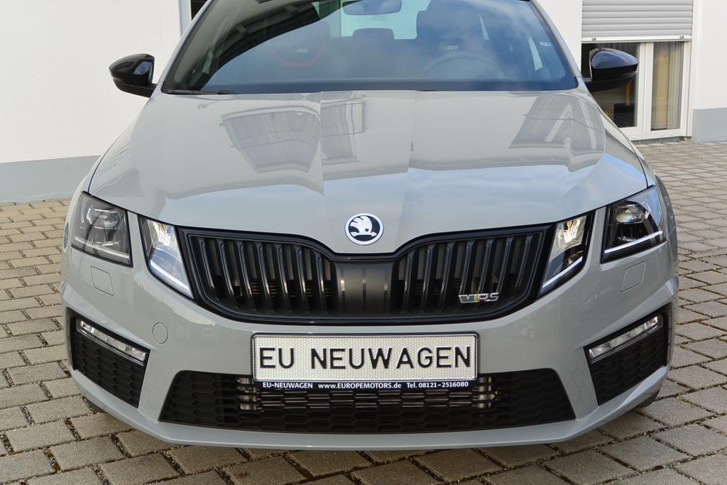 Reimport EU Neuwagen Skoda Octavia RS bei europemotors