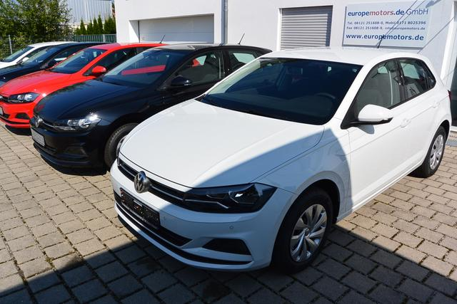 Volkswagen Polo Trendline 1.0 EVO 59 kW 80 PS 5-Gang Schaltgetriebe KLIMA Bluetooth USB Radio Composition Colour Coming home Front Assist Euro 6d-TEMP Abgasnorm WLTP