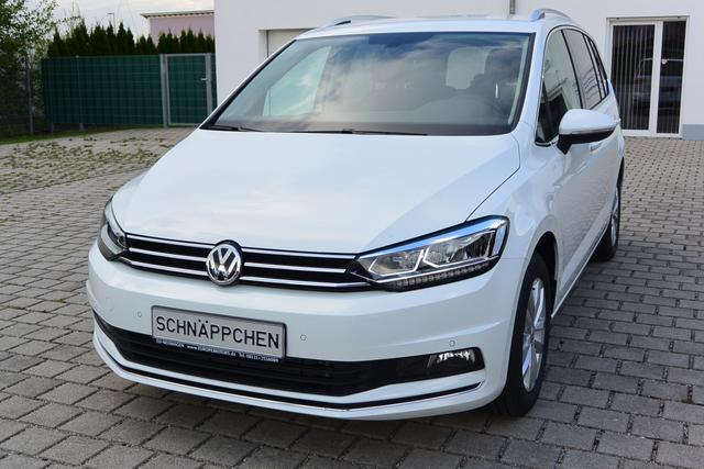 Bestellfahrzeug (frei konfigurierbar), Anfertigung im Herstellerwerk nach Kundenspezifikation Volkswagen Touran - Highline 1.5 TSI ACT OPF DSG 110 kW 150 PS NAVI LED ACC PDC Rückfahrkamera Keyless Air Care Climatronic Aluräder