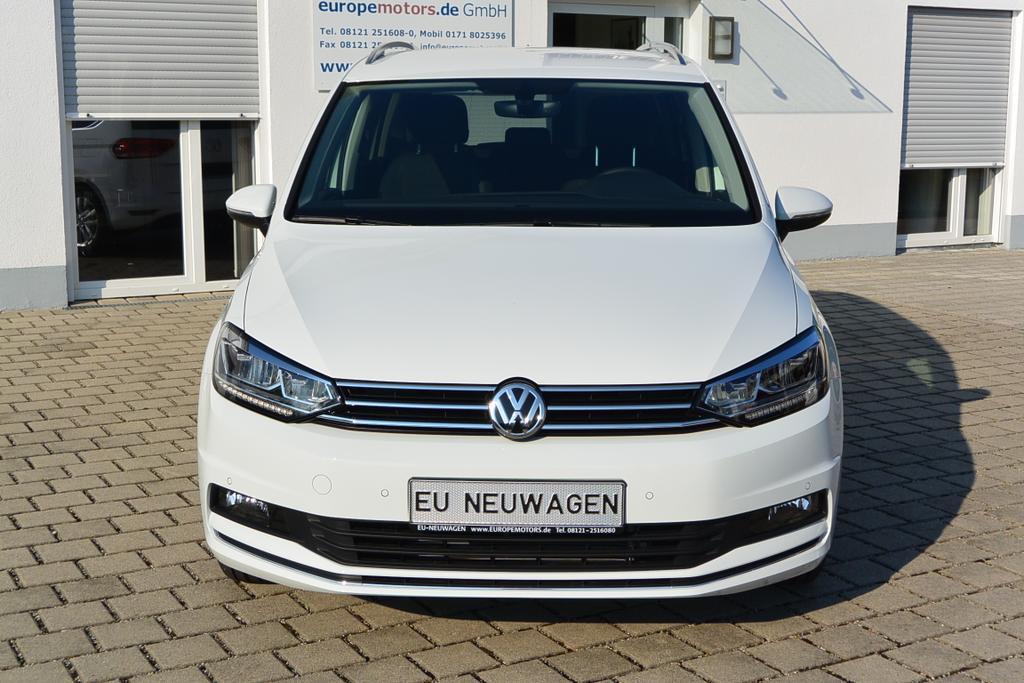 VW Touran Reimport EU-Neuwagen günstig kaufen