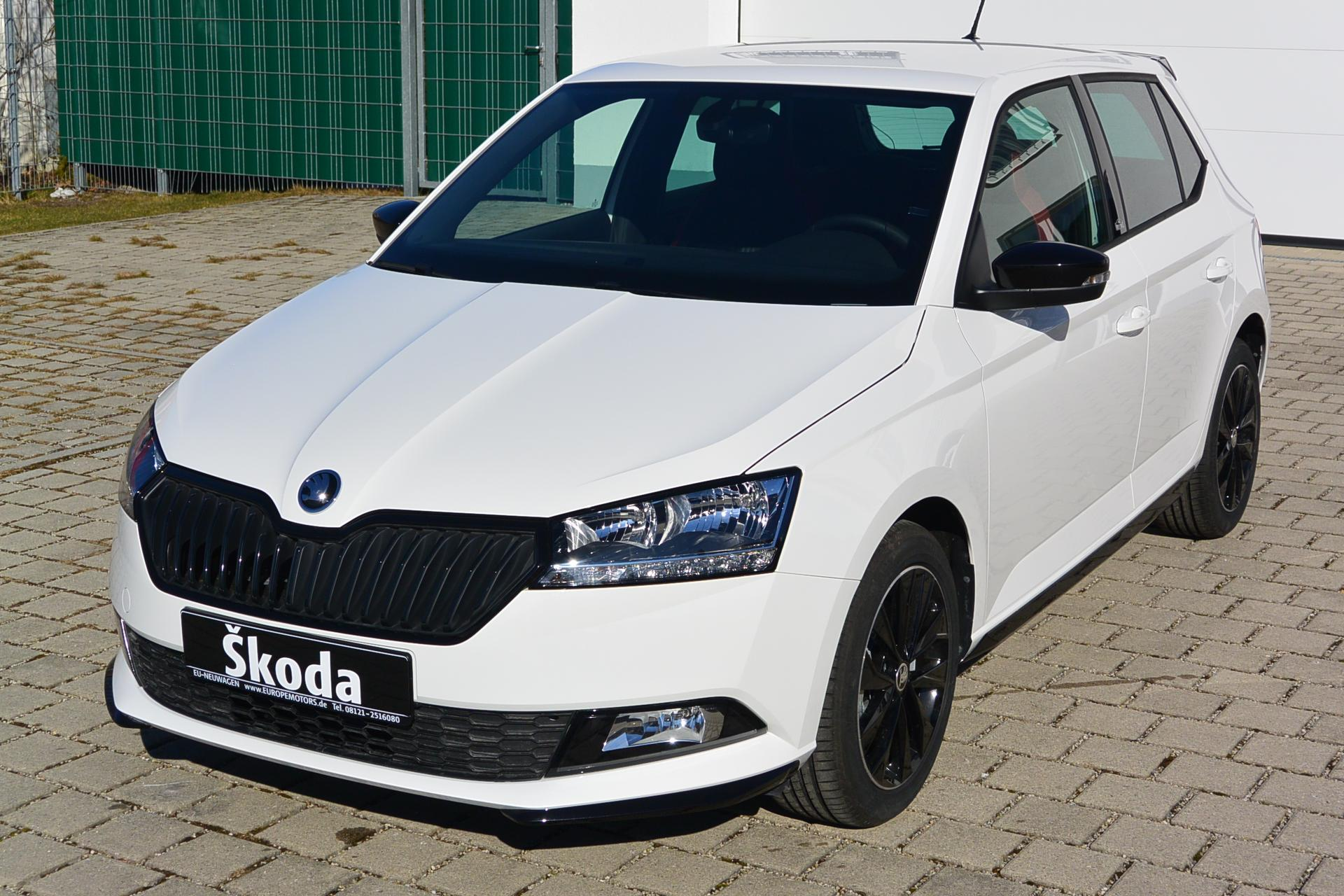 skoda fabia lim monte carlo 1 0 tsi 70 kw 95 ps 5 jahre. Black Bedroom Furniture Sets. Home Design Ideas