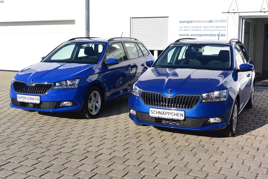 Skoda Fabia Combi Reimport EU-Neuwagen günstig kaufen