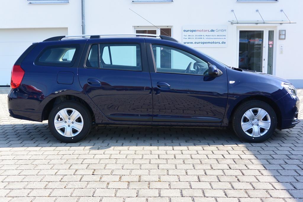 Dacia Logan MCV Kombi Reimport EU-Neuwagen mit Tageszulassung Marine-Blau - Serie, ohne Aufpreis