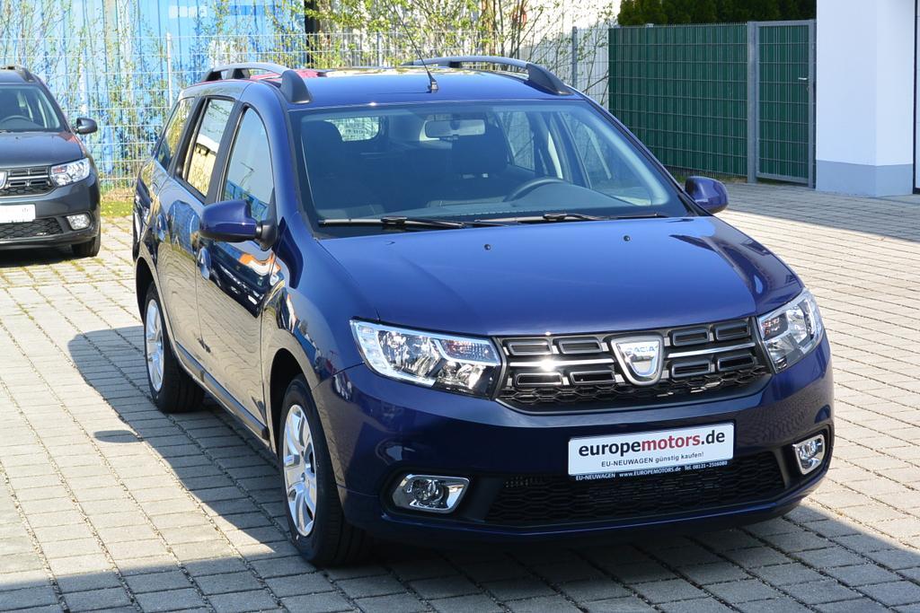 Reimport EU-Neuwagen mit Tageszulassung Dacia Logan MCV Kombi