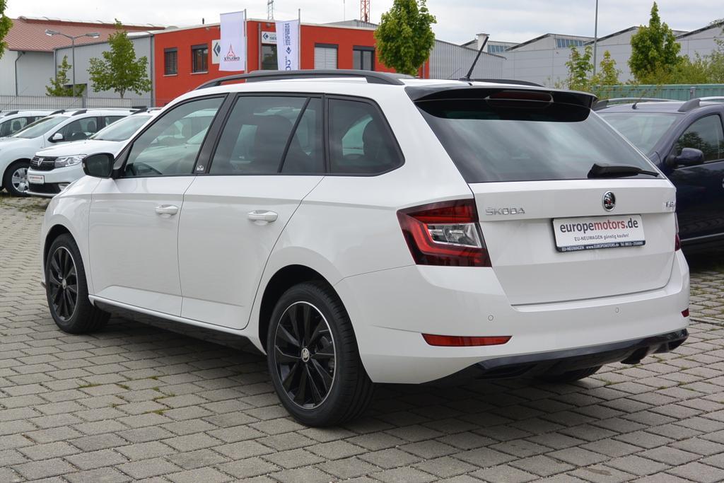 EU-Neuwagen Skoda Fabia Monte Carlo in Combi-Version mit Rabatt und Herstellergarantie bei europemotors