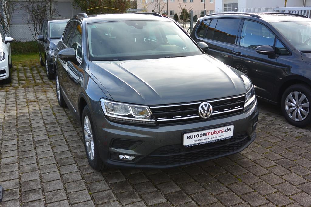 VW Tiguan Reimport EU-Neuwagen günstig kaufen bei europemotors in Neufinsing bei München