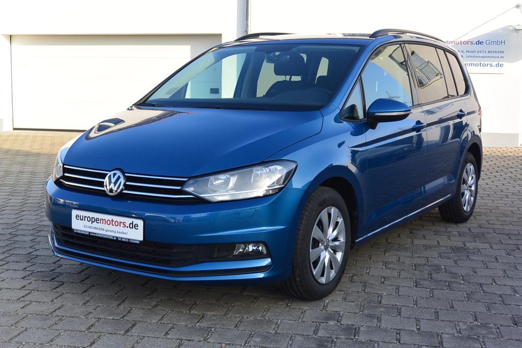 VW Touran EU-Neuwagen günstig kaufen bei europemotors.de GmbH in Neufinsing bei München