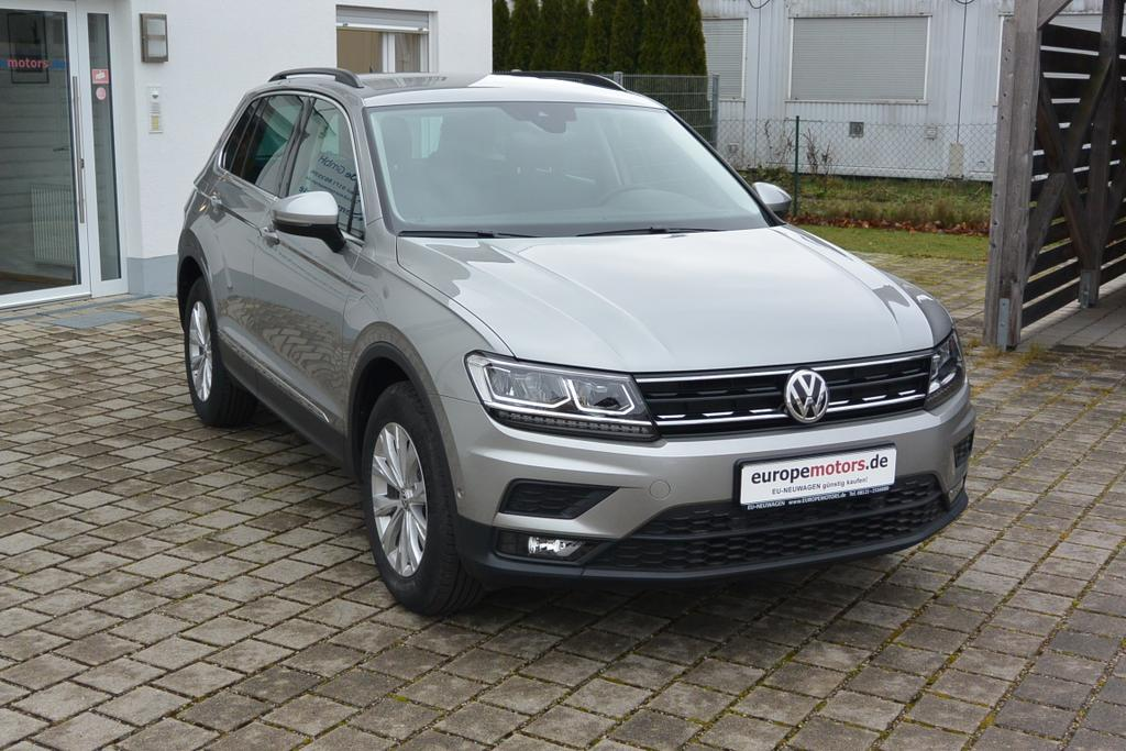 VW Tiguan Reimport EU-Neuwagen günstig kaufen bei europemotors Nähe München