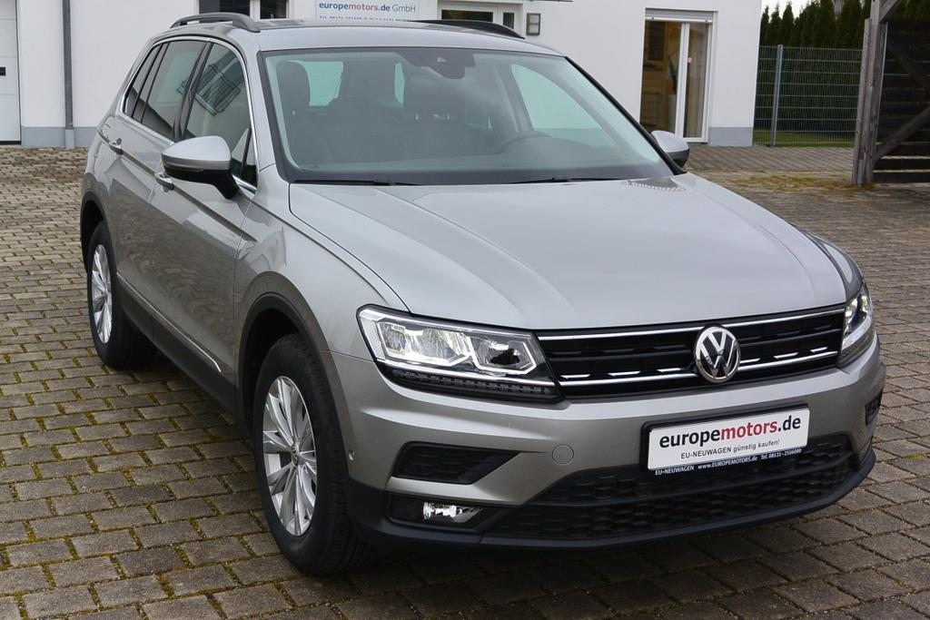 VW Tiguan EU-Neuwagen Reimport kaufen - europemotors.de GmbH bei München