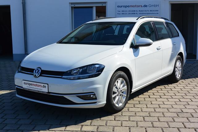 Sofort verfügbares Fahrzeug Volkswagen Golf Variant - Comfortline 1.0 TSI OPF 85 kW 115 PS SOFORT VERFÜGBAR AKTION TZ günstig lagernd abholbereit Klimaautomatik Alu Reserverad Tageszulassung
