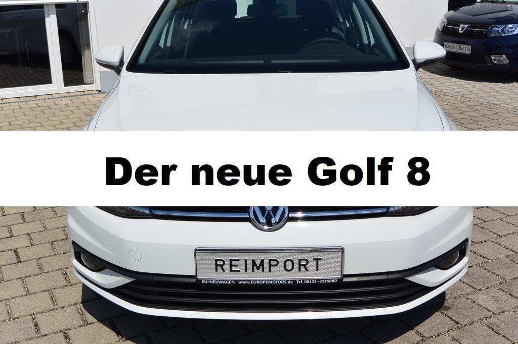 Der neue Golf 8 Reimport EU-Neuwagen - günstig bei europemotors kaufen