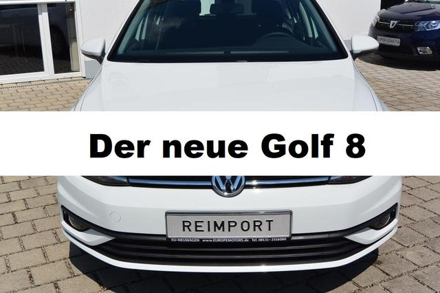 Kurzfristig verfügbares Fahrzeug, wird im Auftrag des Bestellers importiert / beschafft Volkswagen Golf - Life 1.5 TSI ACT OPF 96 kW 130 PS LED Alu ACC Lane Assist Winterpaket Sitzheizung Einparkhilfe Parksensoren Bluetooth App-Connect Active Info Display Digital Cockpit Keyless Start