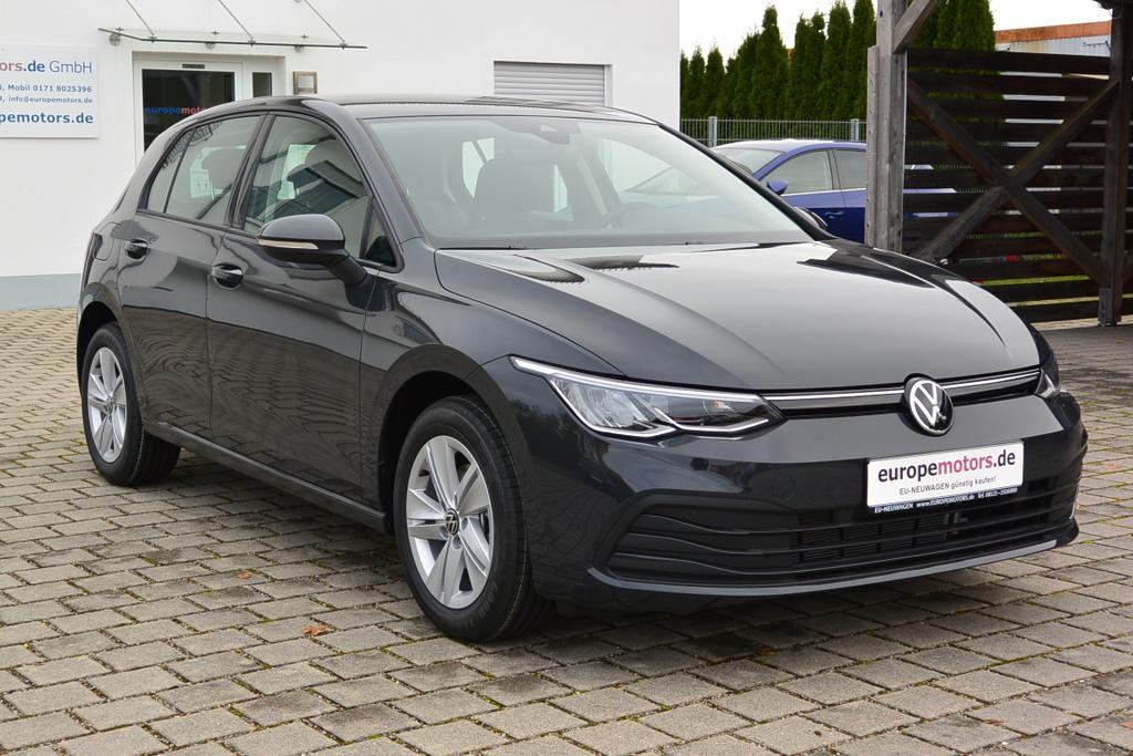 VW Golf 8 Life Reimport EU-Neuwagen günstig kaufen - bei europemotors in Neufinsing zwischen München und Erding