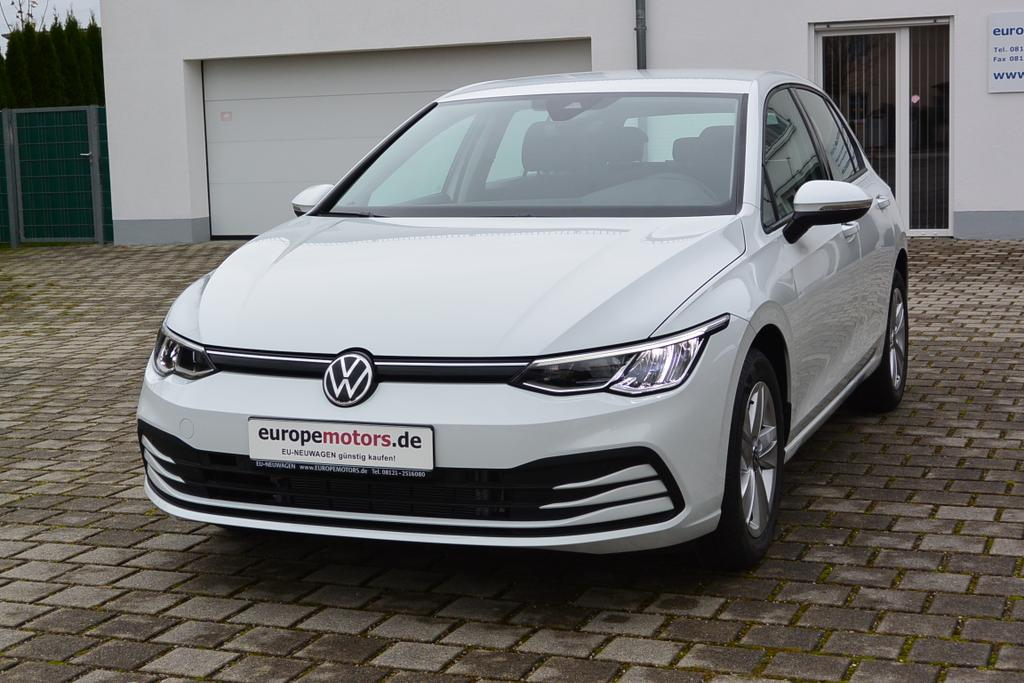 VW Golf 8 Life EU-Neuwagen EU-Reimport wirklich günstig kaufen! europemotors.de GmbH Neufinsing nahe München