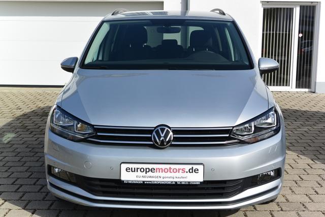 Sofort verfügbares Fahrzeug Volkswagen Touran - Comfortline 1.5 TSI 110 kW 150 PS SOFORT VERFÜGBAR ACC Rückfahrkamera PDC Parksensoren Air Care Climatronic Radio Ready 2 Discover DAB  Bluetooth Winterpaket Sitzheizung