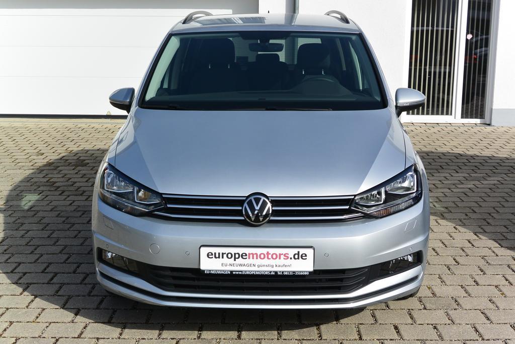 VW Touran Comfortline Reimport EU Neuwagen Tageszulassung, europemotors Neufinsing bei München nahe Kirchheim