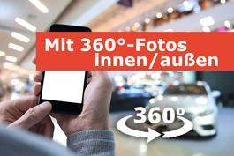 Fahrzeugerfassung mobile+360° App   inkl. Smartphone Samsung Übertragung zu Fahrzeugbörsen mobile.de und autoscout24.de  360° Innenaufnahmen 360° Außenaufnahmen