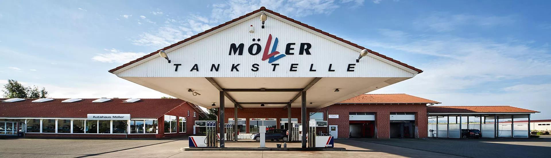 Tankstelle Möller Lüdersfeld
