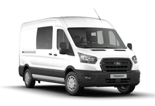 Ford Transit Custom - Kastenwagen Doppelkabine 330 L3H2 Trend Lagerfahrzeug