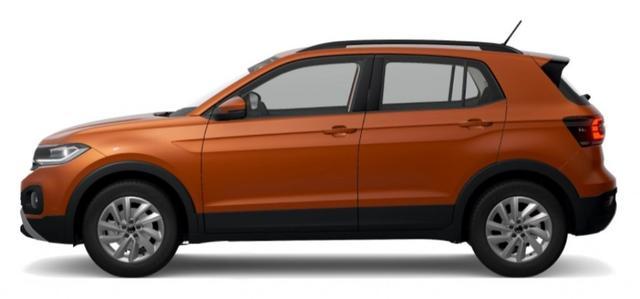 Volkswagen T-Cross - Life 1.0 TSI 110PS*DSG*LED*APP*R2D*SHZ
