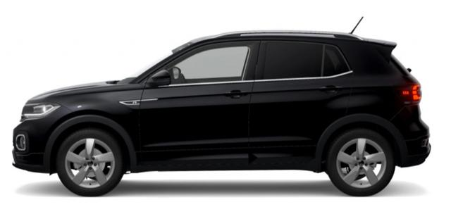 Volkswagen T-Cross - StyleR-Line1,0 TSI110PS DSG*LED*NAVI*SHZ