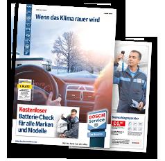 Aktueller Prospekt - Der aktuelle Bosch-Service-Prospekt als PDF
