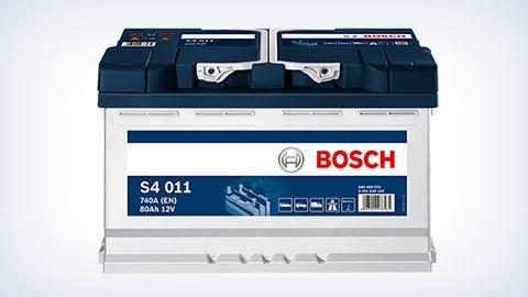 Autobatterien von Bosch – volle Energie und volle Kraft voraus