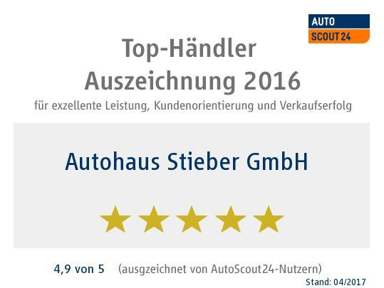 Bewertungen für Autohaus Stieber GmbH
