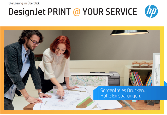 HP Designjet PRINT@YOUR SERVICE