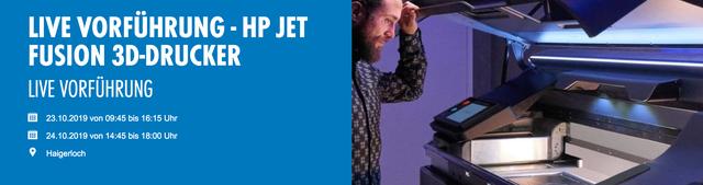 HP Jet Fusion Vorführung