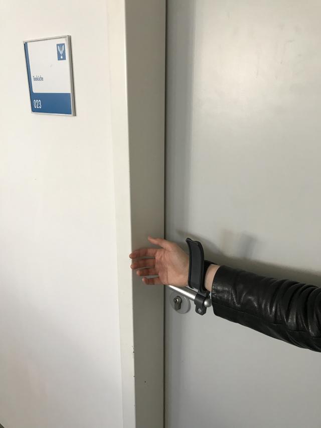 Türöffner Hands free schmal 2