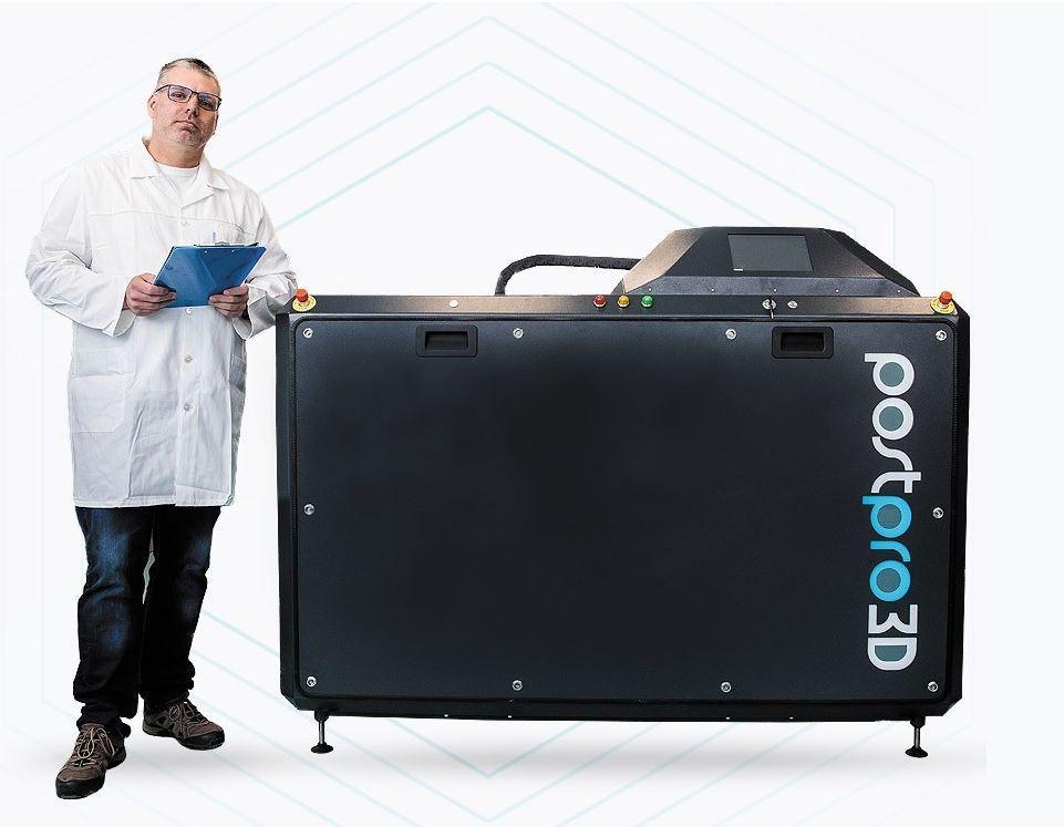 postpro 3D Anlage chemisches Glätten