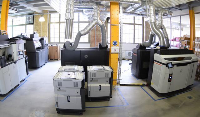 Maschinenpark bei Rapidobject