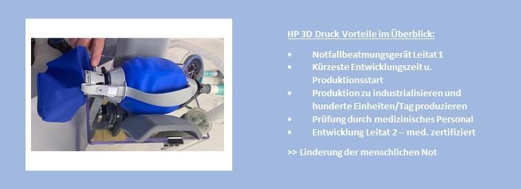 3D-Druck Branchen Medical Beatmungsgeräte