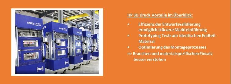 3D-Druck Branchen Industrie Maschinenbau Etol