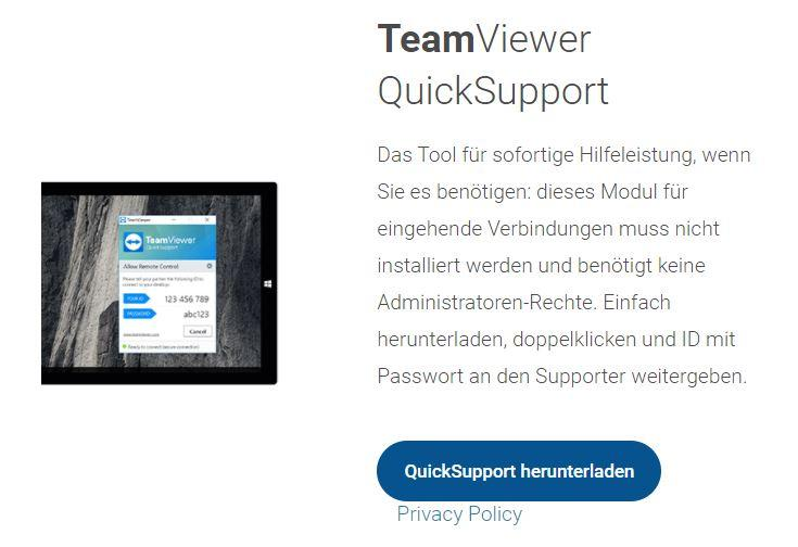 Kaut-Bullinger-Support 3D-Drucker-Support 2D-Drucker-Support Teamviewer Quicksupport