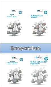 HP Multi Jet Fusion Bücher Booklet Kompendium