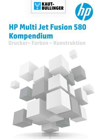 HP Multi Jet Fusion 580 Bücher Booklet Kompendium