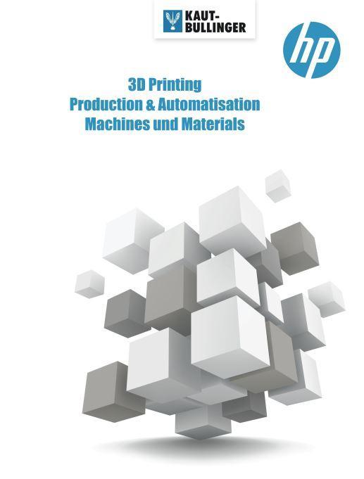 HP Multi Jet Fusion Bücher Booklet Automatisierung Postprocessing Vapor-Smoothing HP-Materialien