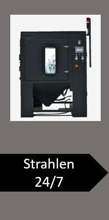 3D-Druck-Workflow Strahlen Entpulvern Bauräume-Entpulvern 3D-Teile-Entpulvern 3D-Teile-Strahlen