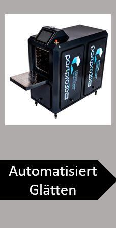 3D-Druck-Workflow Vapor-Smooting Glätten Dampf-Glätten Bauräume-Glätten 3D-Teile-Glätten 3D-Teile-Vapor-Smoothing