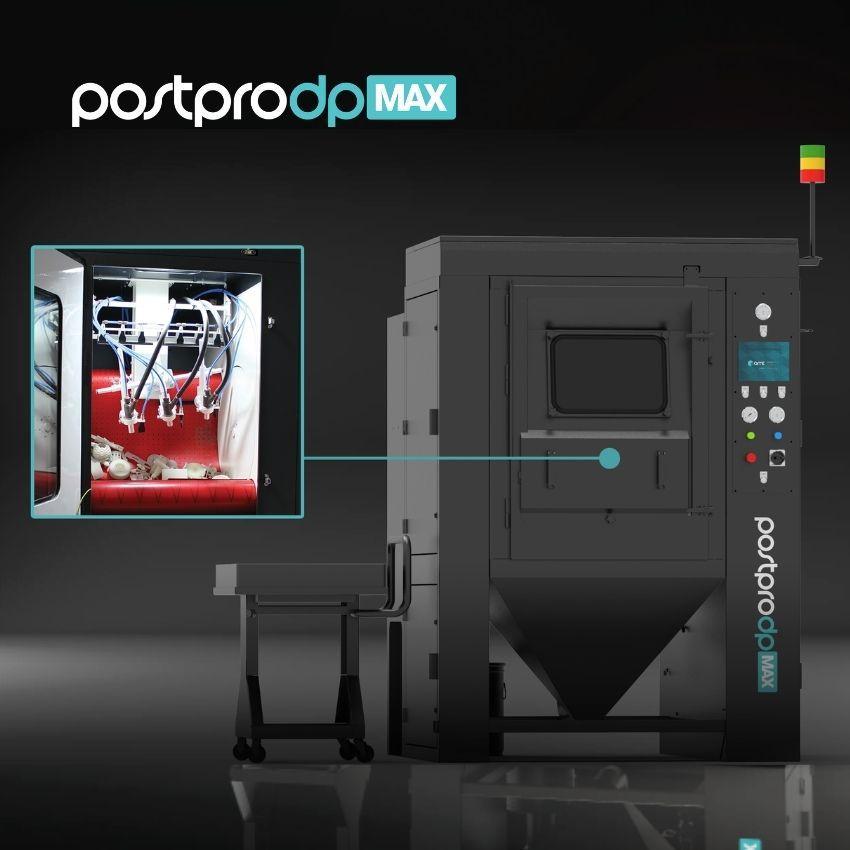 AMT Strahlanlagen PostproDP PostproDP-Pro PostPro-Max Strahlen Verdichtungsstrahlen