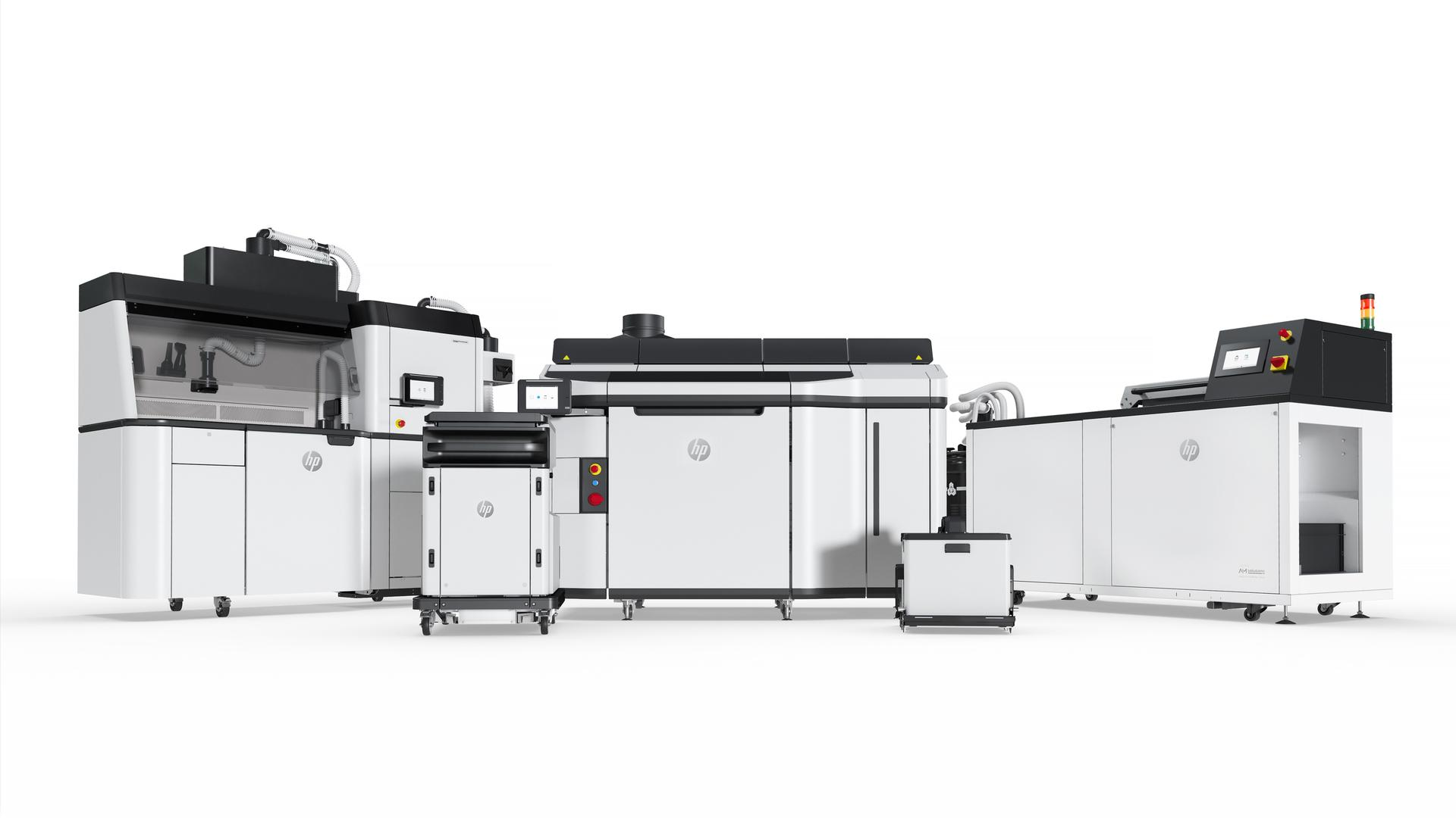 HP-3D-Manufacturing Multi-Jet-Fusion Automatisierung Manufacturing
